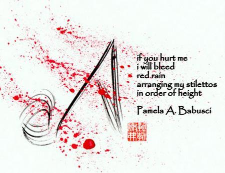 [Stilettos], taiga by Pamela A. Babusci