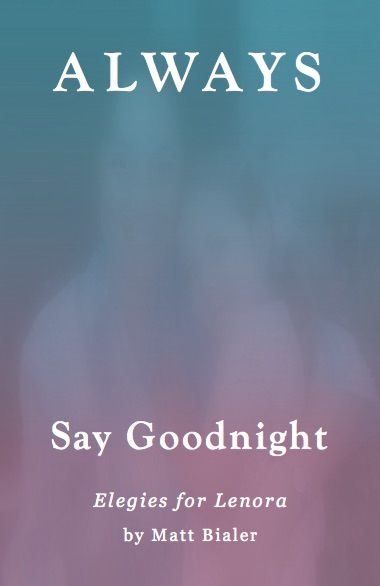 Front Cover of Always Say Goodnight, by Matt Bialer