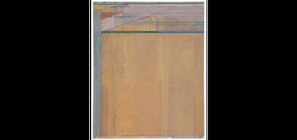 Ocean Park #67: painting by Richard Diebenkorn