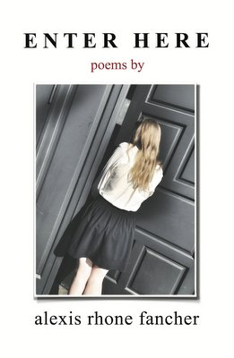 Cover of Enter Here, narrative and erotic poetry by Alexis Rhone Fancher