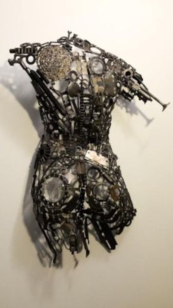 Mixed-Media Figurative Sculpture by Lawrence Feir