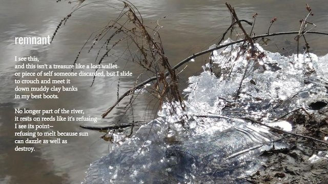 remnant, photo-poem by Kelli Fitzpatrick