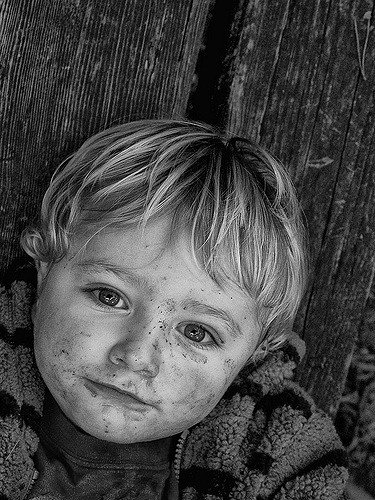 Mud Face: photograph by Ben Francis