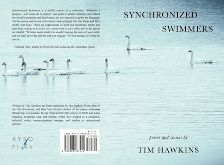 Full cover of Synchronized Swimmers, poems and stories by Tim Hawkins