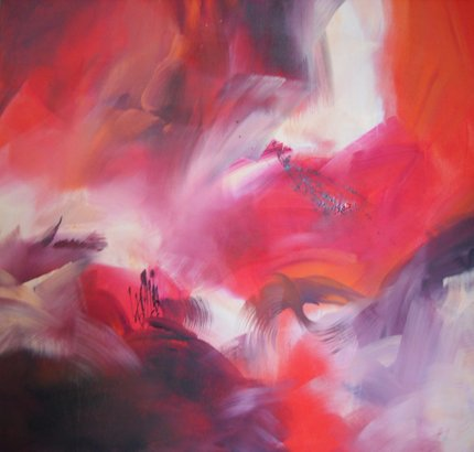 Painting by Sheryl Holland: Light for Icarus