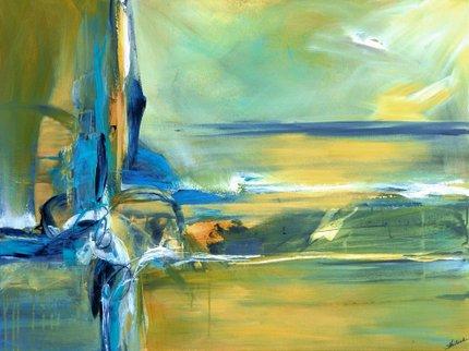 Painting by Sheryl Holland: Ocean of Ki