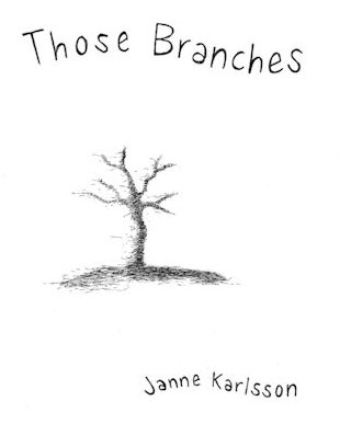 Those Branches (Panel 1 of 8), drawings by Janne Karlsson