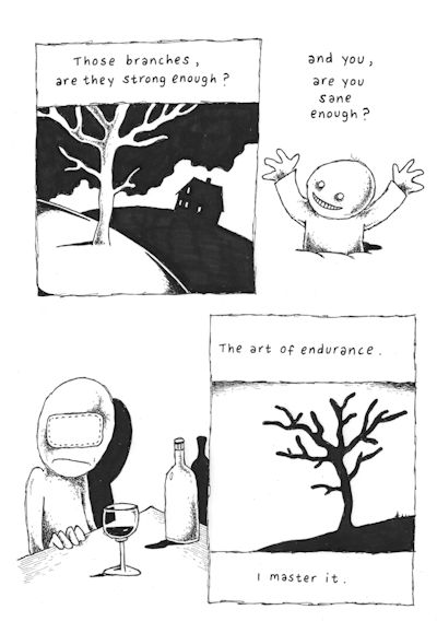 Those Branches (Panel 2 of 8), drawings by Janne Karlsson