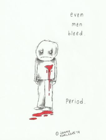 Even Men Bleed by Janne Karlsson