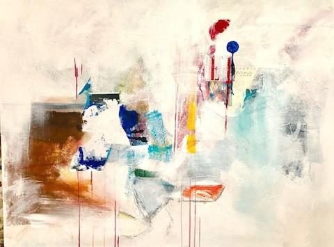 Painting: Artifact With Steam, by Ann Knickerbocker