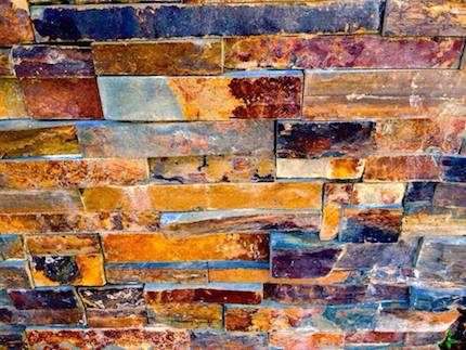 Another brick in the wall: photograph (February 2015) by Devi S. Laskar