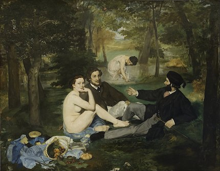 The Luncheon on the Grass: painting by Éduoard Manet