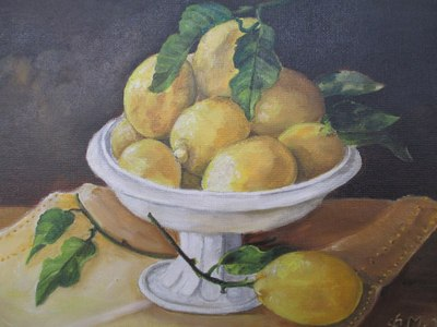 Andros Lemons, by Frances Melis