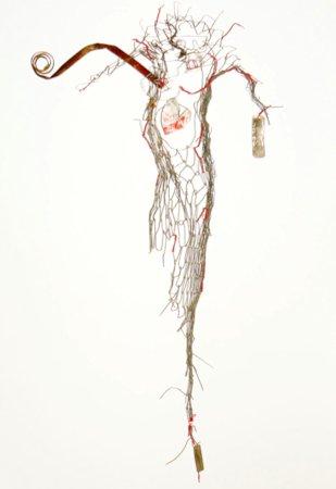 Torso: sculpture by Amalia Melis