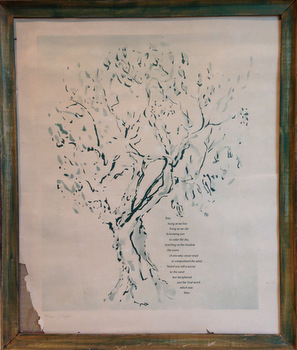 Tree: Haiga by P. A. Milton and Jack Cooper