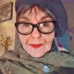 Digital art, Self-Portrait by Alexis Rotella