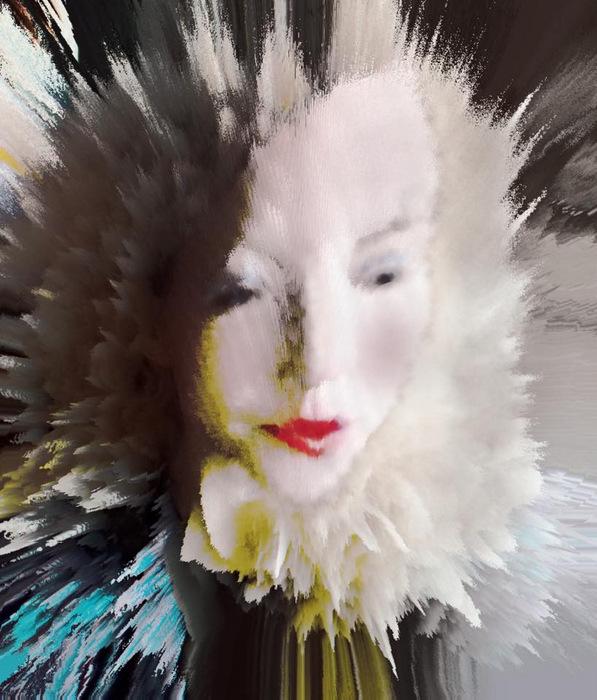 Digital art, Epiphany II, by Alexis Rotella