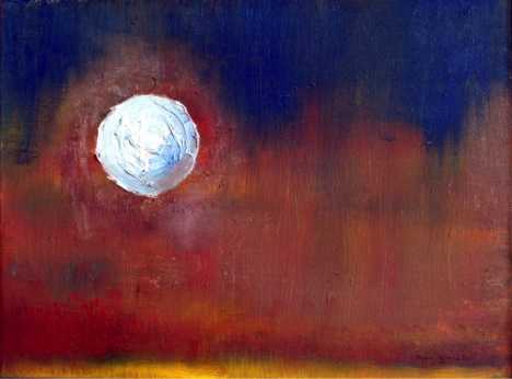 Long Night Moon, painting by Steven Schroeder