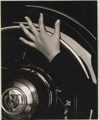 Georgia O'Keeffe—Hand and Wheel: photograph by Alfred Stieglitz