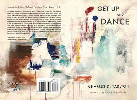 Full cover of Get Up and Dance, ekphrastic poems by Charles D. Tarlton