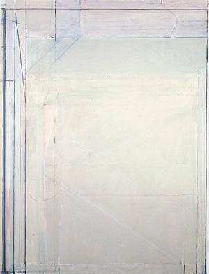 Painting by Richard Diebenkorn: Ocean Park #109