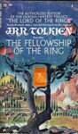Ballantine cover of J.R.R. Tolkien's book, Fellowship of the Rings